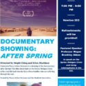 """[GVCP] Facebook link to Geneseo Peace Action showing """"After Spring"""" on April 11th"""