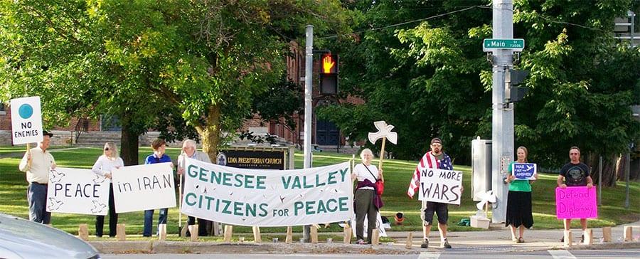 GVCP Members at rally