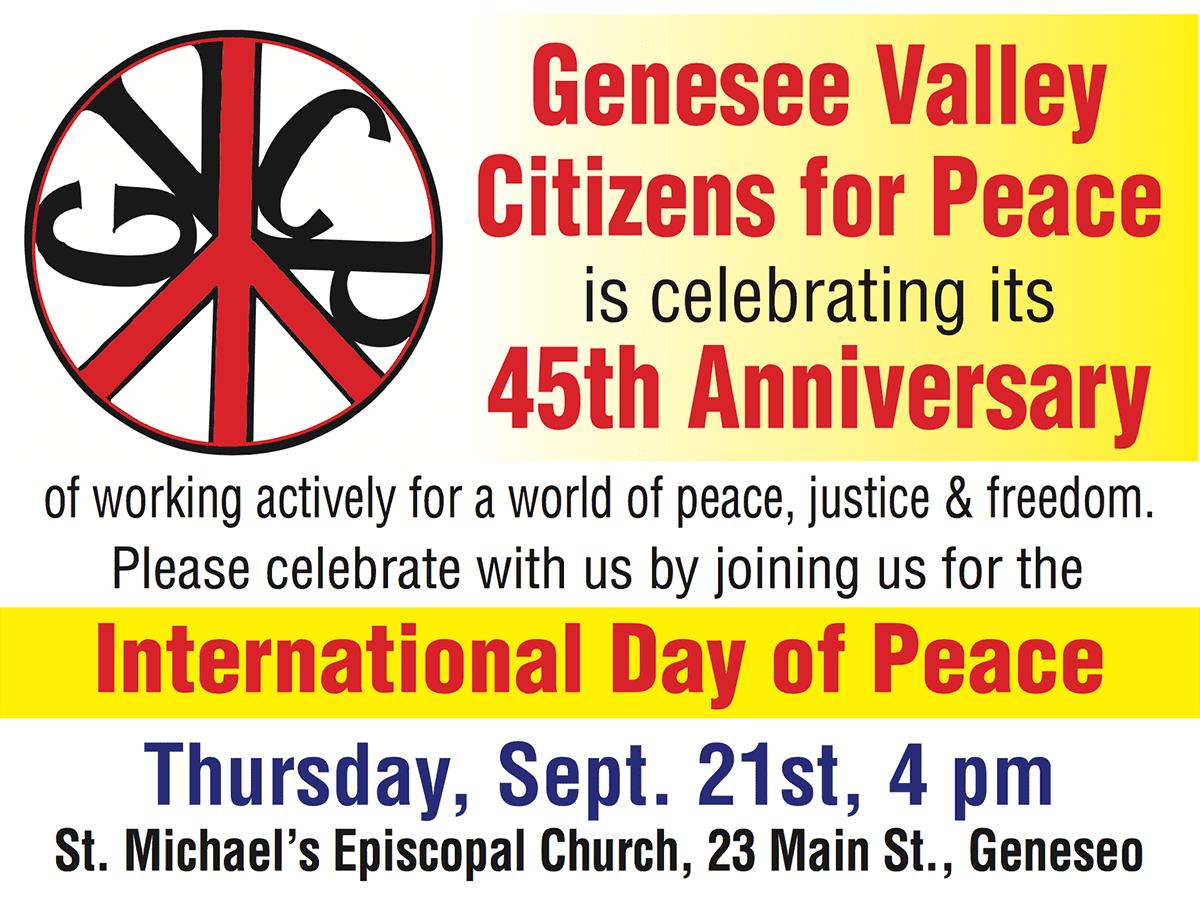 GVCP 45th Anniversary
