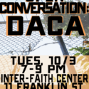 [GVCP] DACA Event 10/03