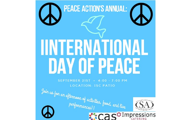 International day of peace at SUNY Geneseo