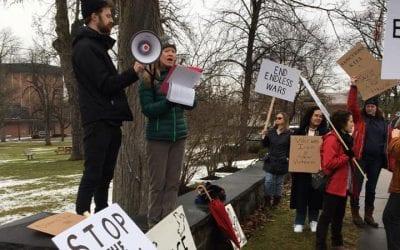 No War with Iran – Peace Protest – Geneseo, NY – January 25, 2020