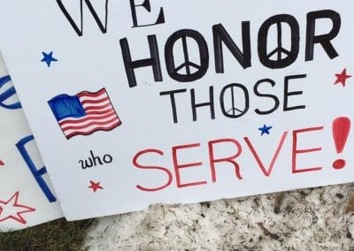 We honor those who serve