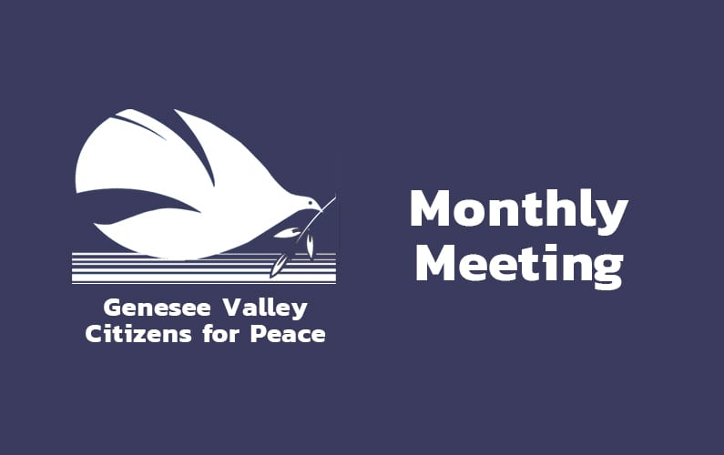 GVCP Monthly Meeting
