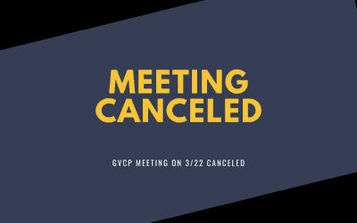 Meeting on 3/22 canceled Vigils