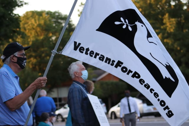 Veterans for Peace flag
