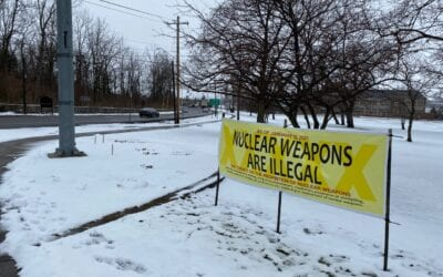 Nuclear Weapons are Illegal! Geneseo NY 01-22-21 GVCP with Veterans for Peace Rochester