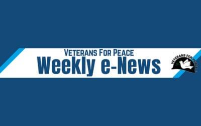 VFP eNews: For Peace in Korea, No More War Drills!