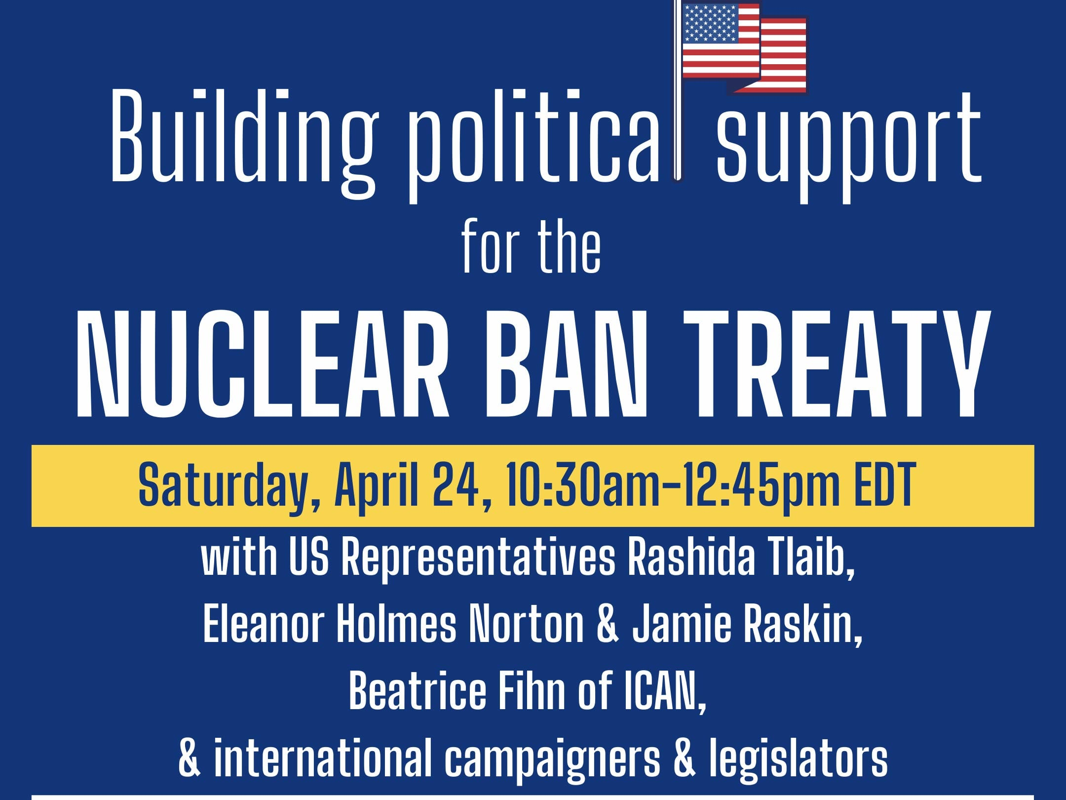 building political support for a nuclear ban treaty