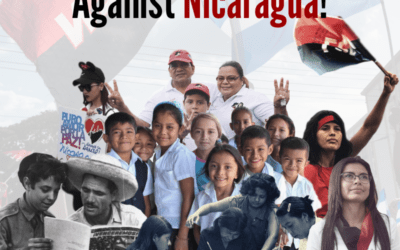 Individual sign-on to stop U.S. interference in Nicaragua Test